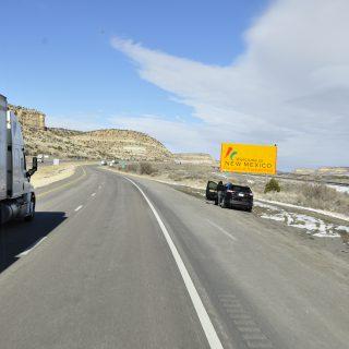 On route to Quartsite