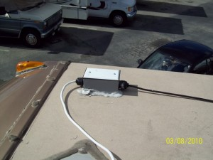 RV Roof Antenna