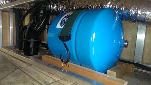 RV Water pressure tank
