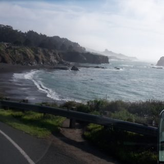 Driving US 1 Legget to Bodega Bay
