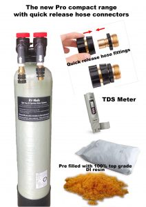 Great new DI water system for a spotless finish to your RV