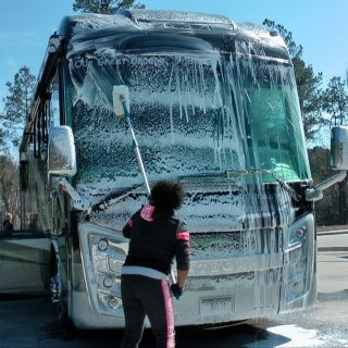 I thought it was about time to let someone else wash my RV