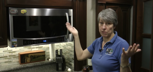 How to fix the annoying Entegra microwave vent flap