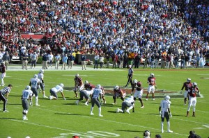 Carolina College Football Game 3